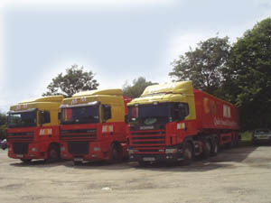 potato lorries